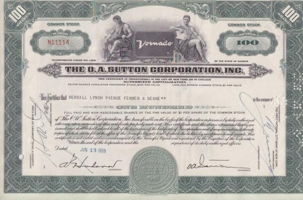 30x O.A.Sutton Corporation Inc.