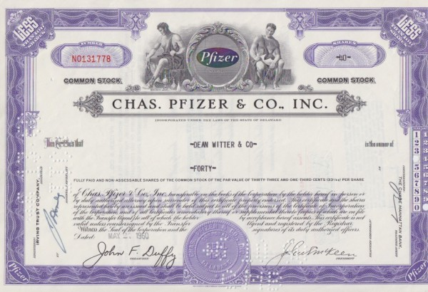 9x Chas. Pfizer & Co. Inc. (Viagra)