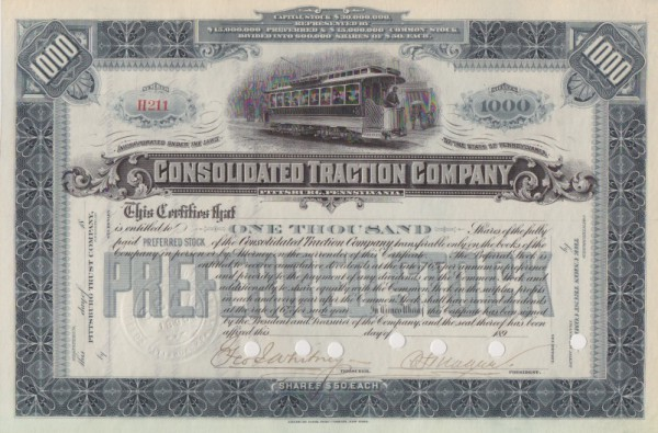 11x Consolidated Traction Company