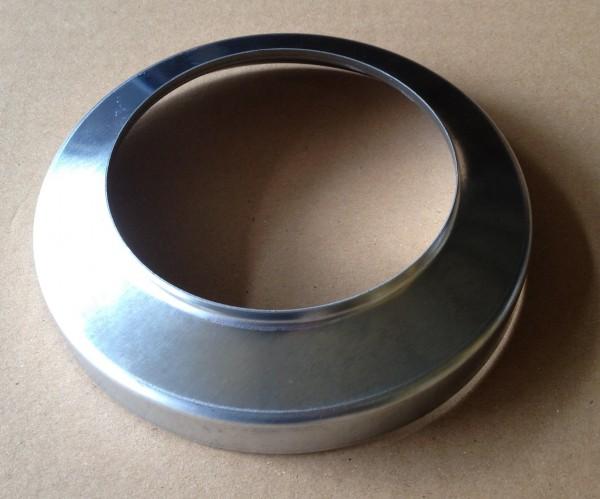 Zink Standrohrkappe 100 / 150 mm