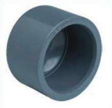 PVC Kappe 25mm 1-fach Klebemuffe