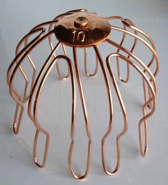 Kupfer Laubfangsieb 100 mm