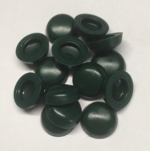 150 grüne Kunststoff Abdeckkappen für LiKo-Schrauben