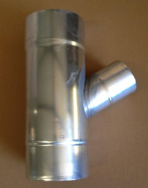 Zink Abzweig 100 / 60mm 60° (6tlg. / 10lg,)