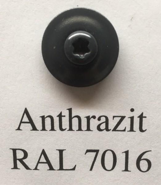 50 Spenglerschrauben anthrazit 4,5 x 35 mm (RAL 7016)