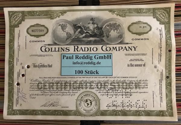 100x Collins Radio Company (<100 Shares)