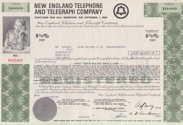 10x New England Telephone & Telegraph Company