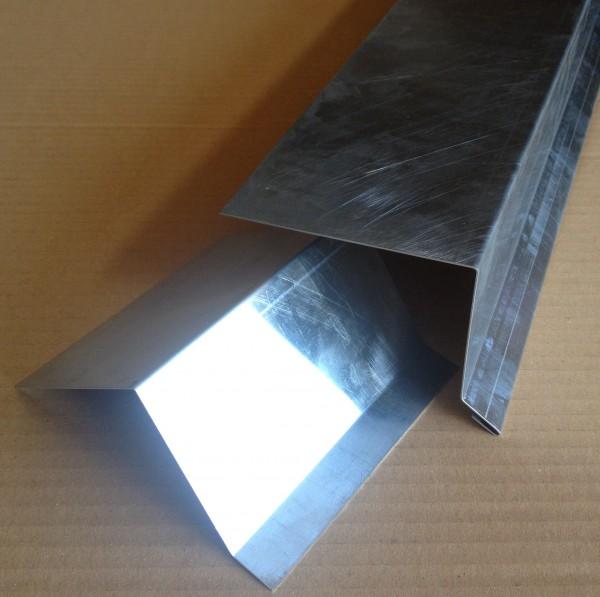 "Dachrandprofil Zink ""blank"" 1500x333 mm"