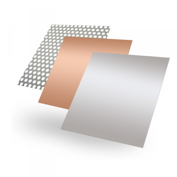 Blech nach Maß (Aluminium, Edelstahl, Kupfer)