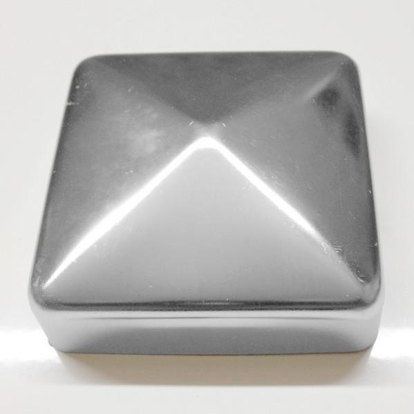 Pfostenkappe 120x120 mm Edelstahl