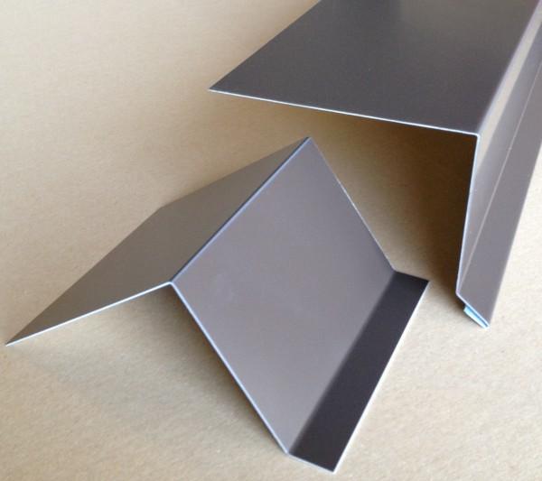 Dachrandprofil Alu braun 1500x335mm