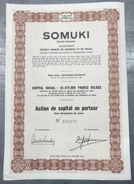 20x SOMUKI Société Anonyme 1974