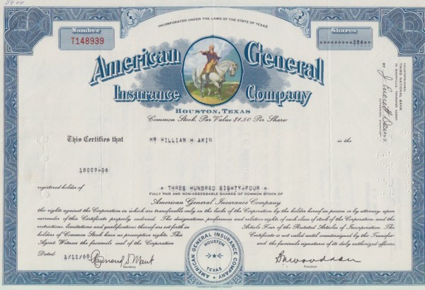 10x American General Insurance Company