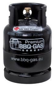Angebot bis 01/2018 - BBQ Kaufflasche 8kg Popan-Gas mit Füllung