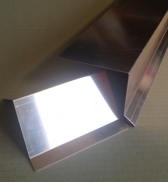 Dachrandprofil Kupfer 1500x333 mm