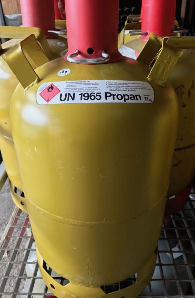 Propan-Gas 11 kg im Tausch gegen LangeGas Leerflasche