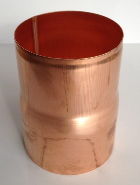 Kupfer Regenrohrmuffe 76 mm