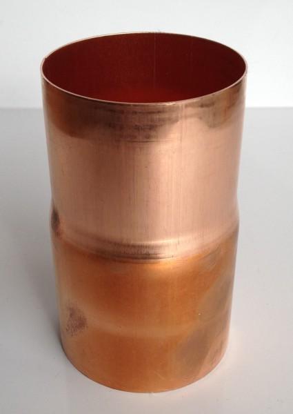 Kupfer Regenrohrmuffe 60 mm