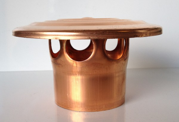 Kupfer Lüftungshaube 76 mm