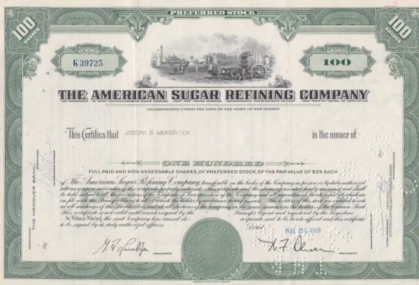 5x American Sugar Refining Company