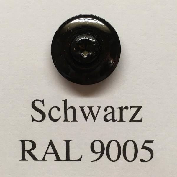 50 Spenglerschrauben tiefschwarz 4,5 x 35 mm (RAL 9005)