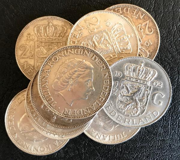 Niederlande : 2 1/2 Gulden * 1959-1966