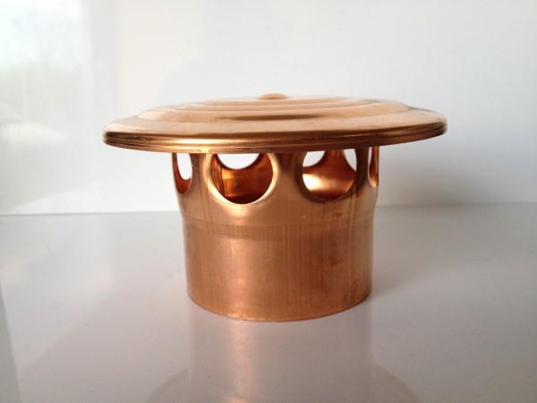 Kupfer Lüftungshaube 87 mm