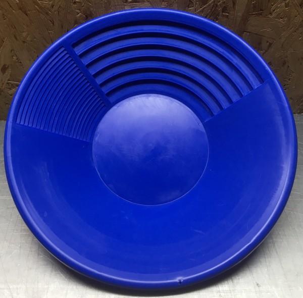 """Goldwaschpfanne """"groß"""" 38cm Durchmesser (15"""") blau"""