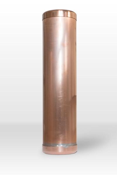 """Kupfer Dokumentenrolle 360/120 mm """"Zeitkapsel"""""""