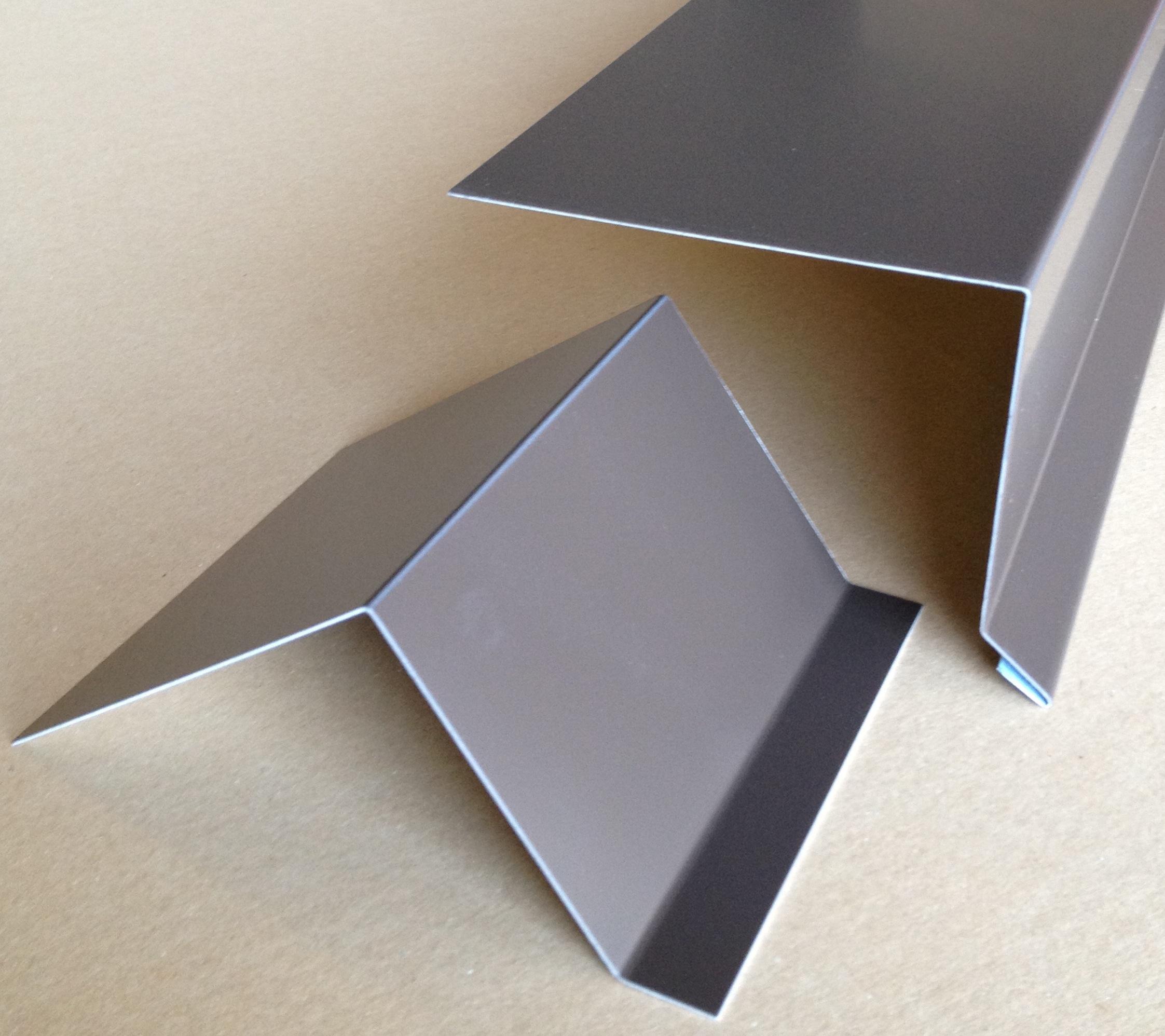Dachrandprofile aluminium