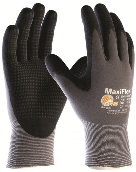 12 Paar Maxiflex Endurance Arbeitshandschuh Größe 10