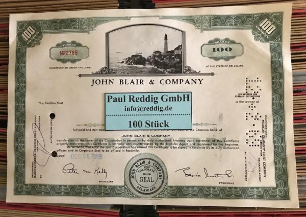 100x John Blair & Company (100 Shares) Leuchtturm