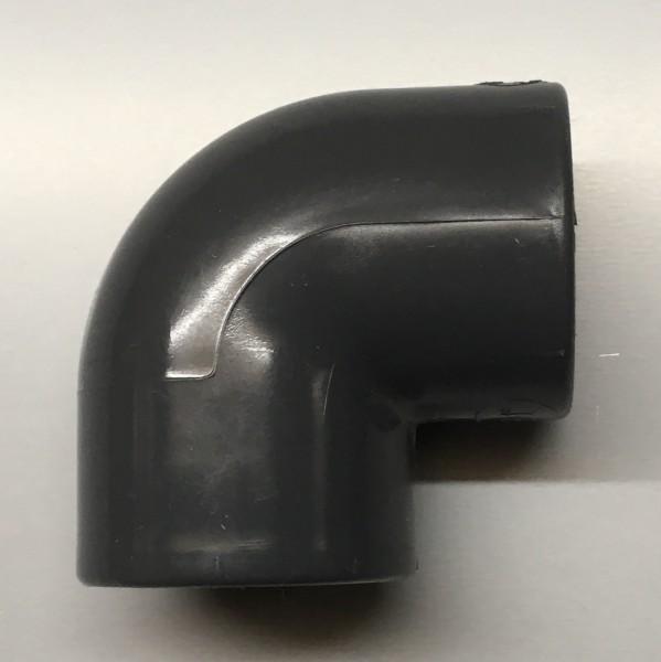 PVC Winkel 25mm 90° 2fach Klebemuffe