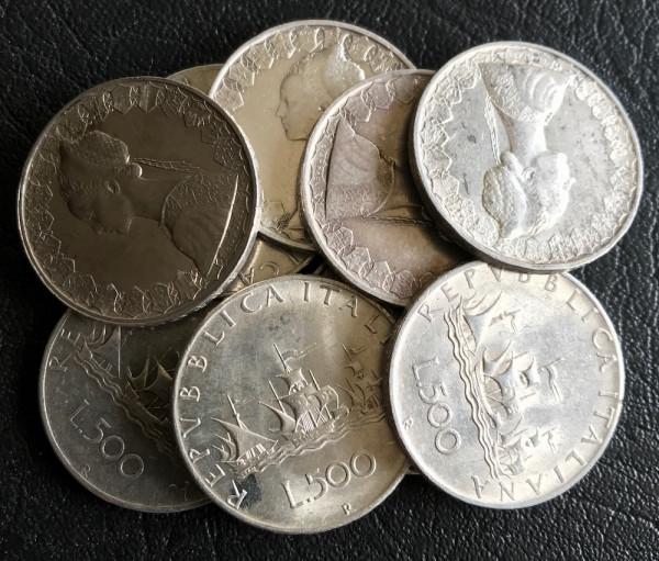 Italien : 500 Lire * 1958