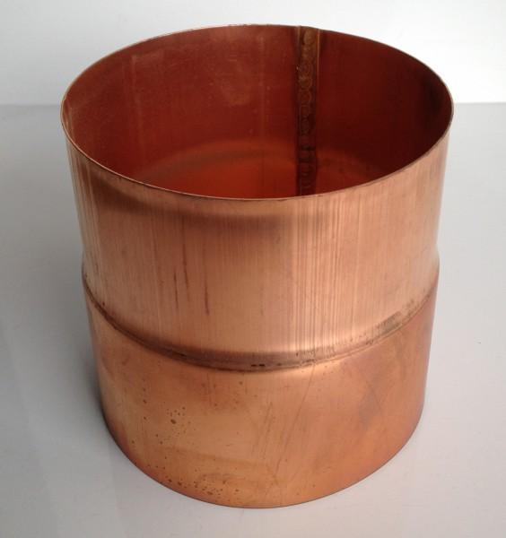 Kupfer Regenrohrmuffe 120 mm