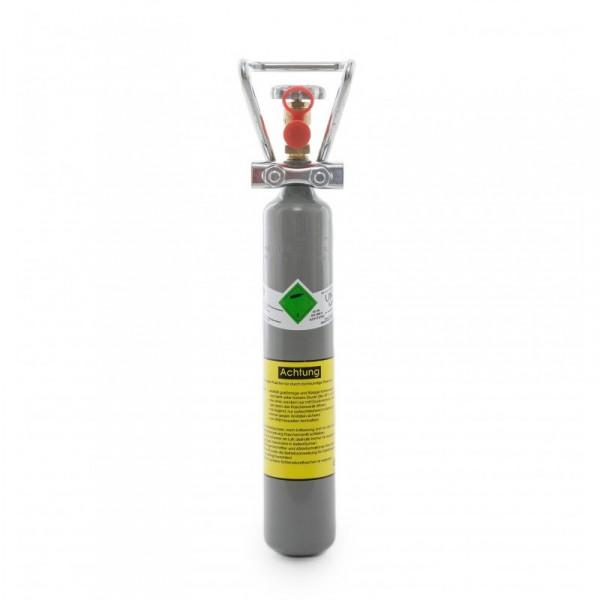 Kohlensäureflasche gefüllt mit 500 g