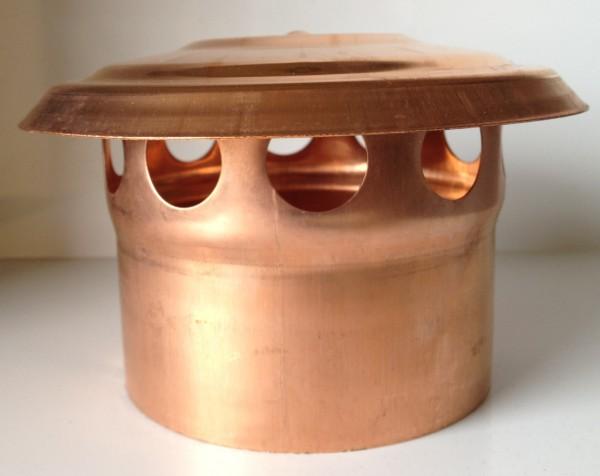 Kupfer Lüftungshaube 120 mm