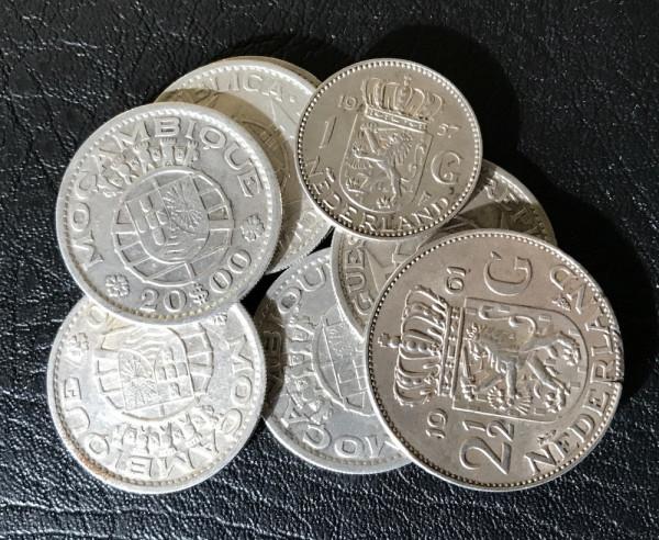 Anlageposten Münzen mit 72,00% Silberanteil