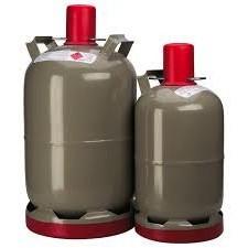 angebot bis 01 2018 graue 11 kg propan kaufflasche mit f llung propangas diverse gase. Black Bedroom Furniture Sets. Home Design Ideas