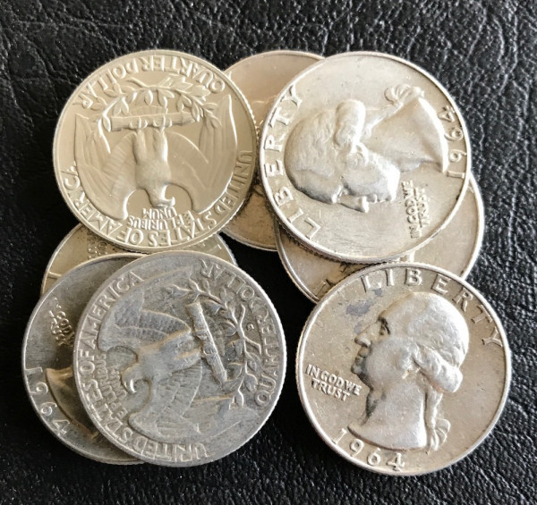 USA : 25 Cents * 1932-1964