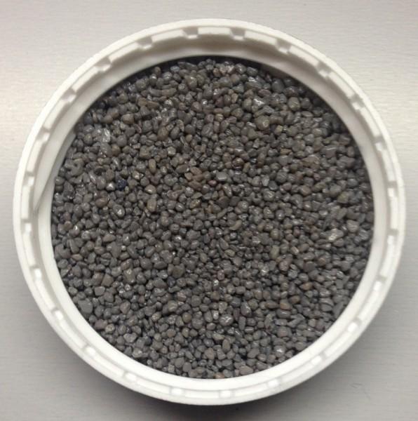 500ml Farbgranulat * Deko-Granulat * Grau