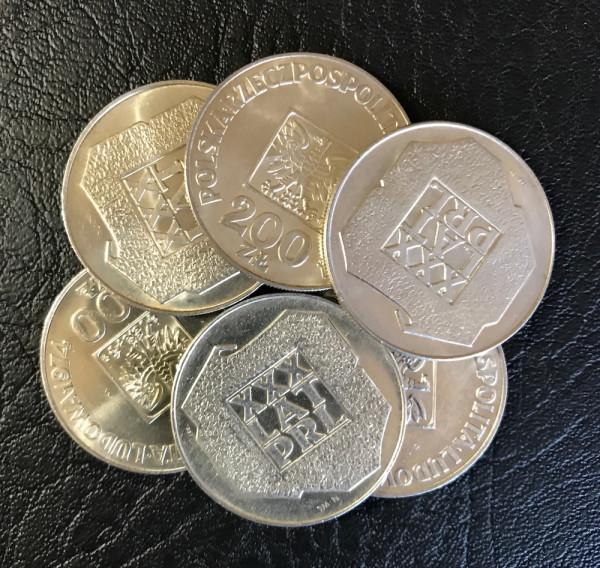 Polen : 200 Zloty * 1974