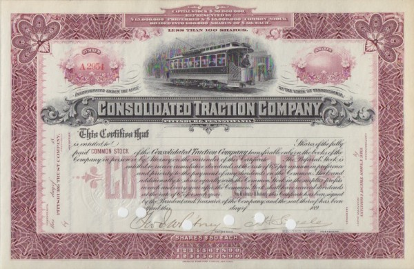 9x Consolidated Traction Company