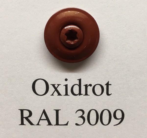 50 Spenglerschrauben oxidrot 4,5 x 35 mm (RAL 3009)