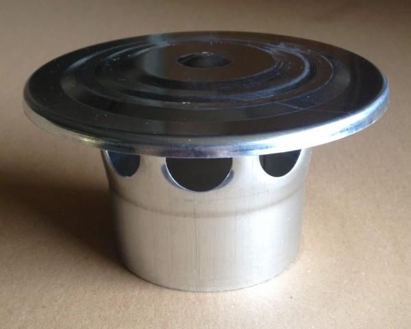 Zink Lüftungshaube 76 mm