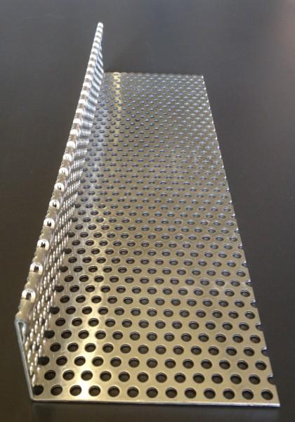 Aluminium Kiesfangwinkel 750x185x2 mm