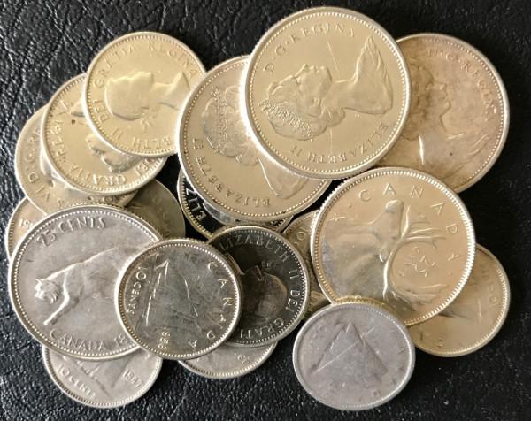 Anlageposten Münzen mit 80,00% Silberanteil